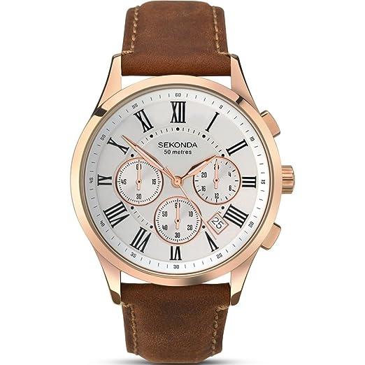 12d98216aa6 Mens Sekonda Chronograph Watch 1144  Amazon.co.uk  Watches