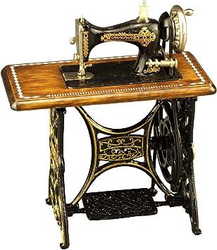 Amazon.es: Miniaturas Reutter - máquina de coser de metal (mesa/1.780/3): Juguetes y juegos