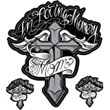 """Pilot Automotive LT-88197 6"""" x 8"""" Decal, In Loving Memory Mom"""