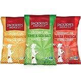 Jackson's Honest Tortilla Chip Variety Pack, 5.5oz (6 pack), As Seen on Shark Tank
