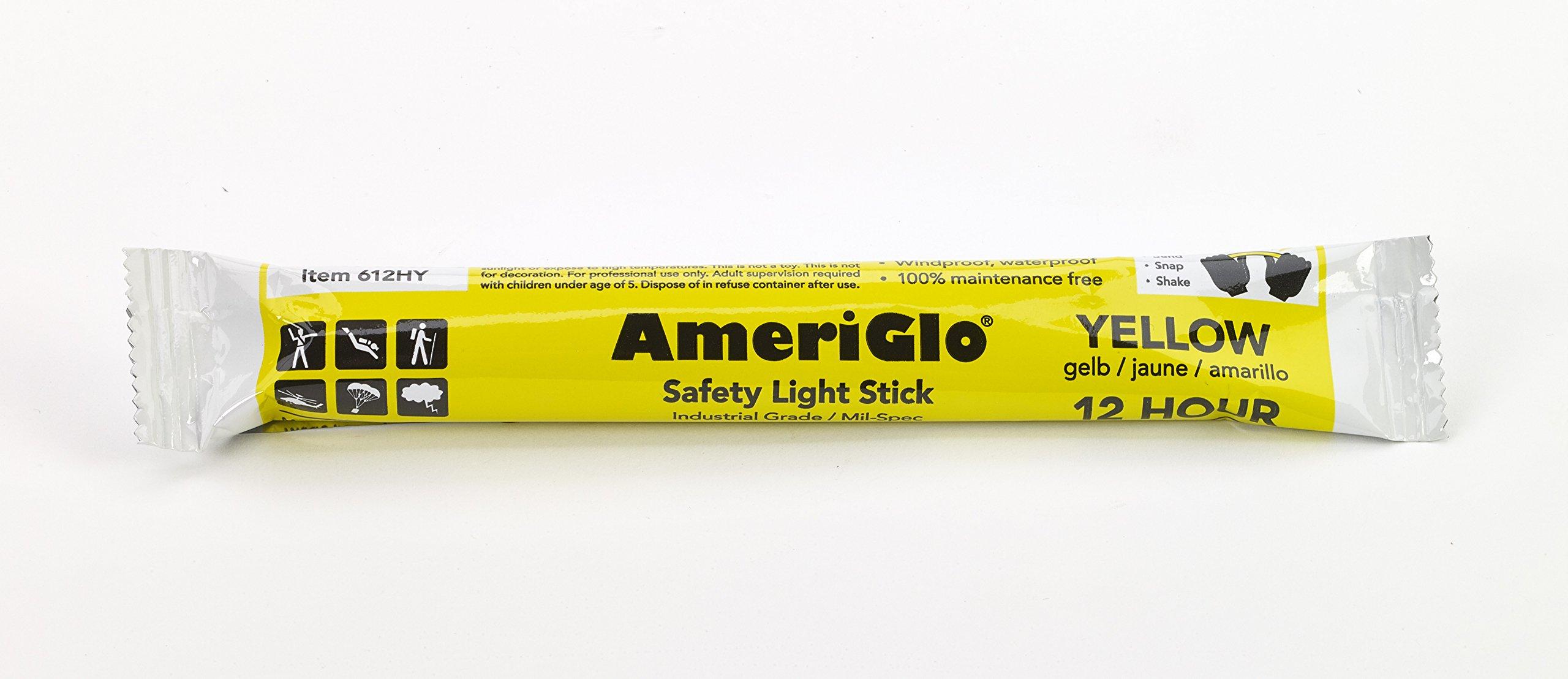 Cyalume 12 Hours Lightstick, 6'' Length, Yellow (Pa