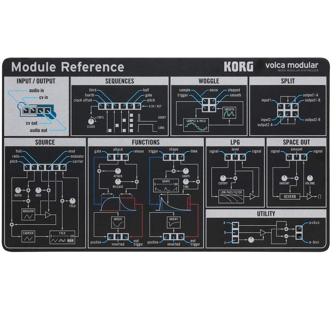 Korg Volca Modular Semi-Modular Synthesizer with Sequencer by Korg (Image #9)