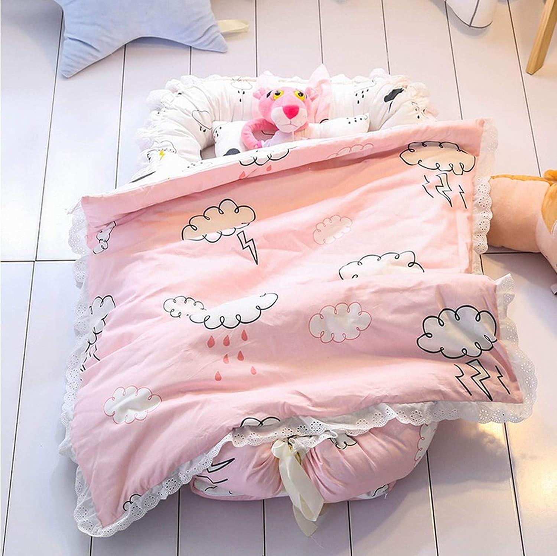 Elefante rosa. 2 unidades Ustide Baby Mois/és transpirable 100/% algod/ón port/átil super suave juego de ropa de cama