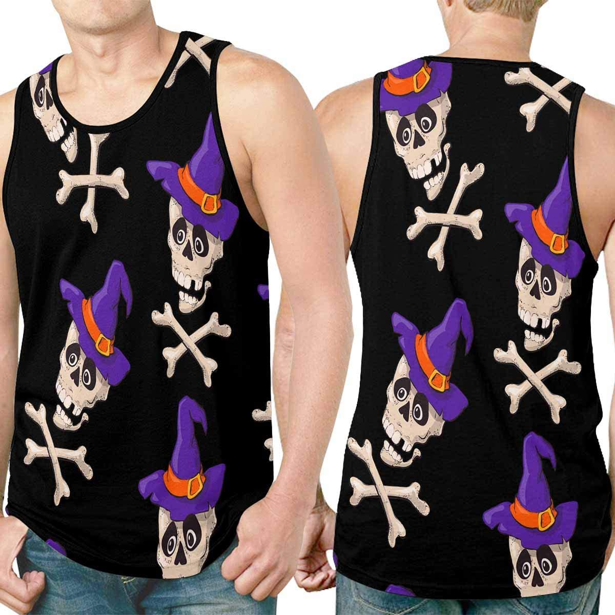 Cool Design Tank Tops T-Shirts Printed for Mens