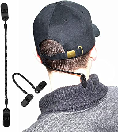 Hat Retainer Windproof Adjustable Chin Strap Clip fit for Motorcycles Boating~