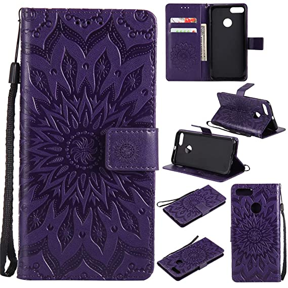 Amazon com: Mi 5X Wallet Case,IVY [Sun Flower] Mi A1 PU