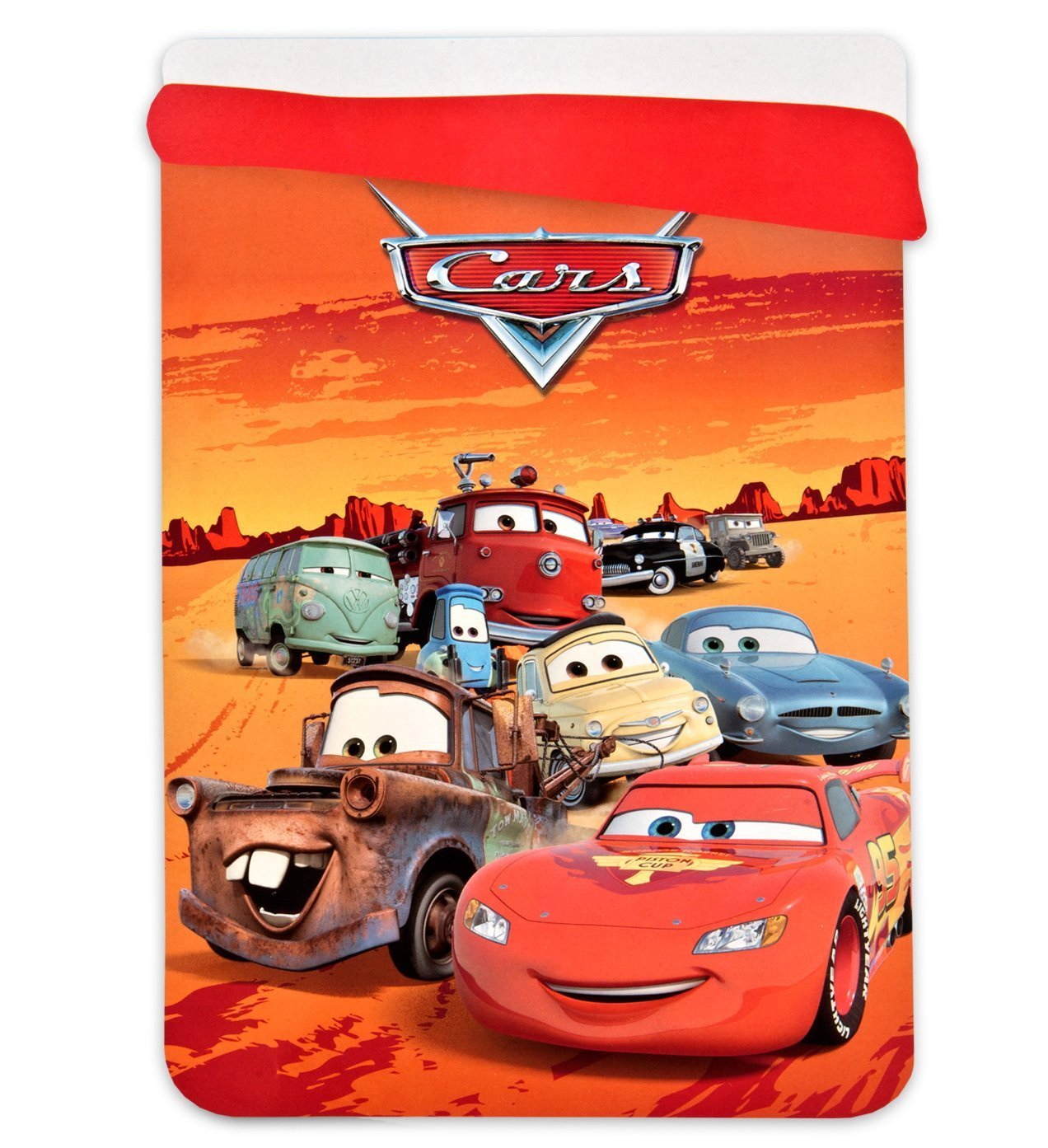 Jerry Fabrics Disney Cars Kids Bed Quilts Extra-Warm Children's Duvet Covers, Red, 180 x 260 cm JERRY FABRICS s.r.o. 225778