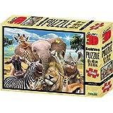 Philos 9050 - Puzzle 3D Afrika Selfie 500 Teile