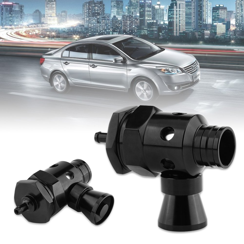 Acouto Negro Universal 25mm Car Turbo BOV Dump Blow Off Valve Whistler Kit simulador de Sonido Ajustable: Amazon.es: Coche y moto