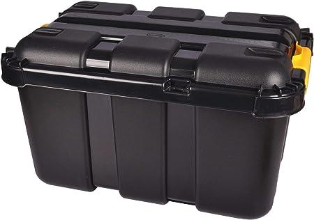 Tontarelli - Caja de Almacenamiento con Ruedas (50 L, apilable ...
