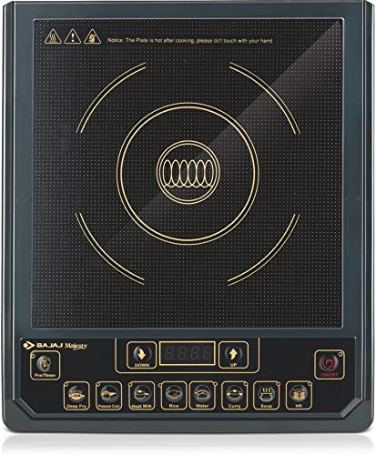 2. Bajaj Majesty ICX 3 1400-Watt Induction Cooktop