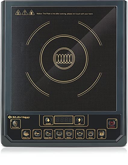 Bajaj Majesty ICX 3 1400-Watt Induction Cooker (Black)