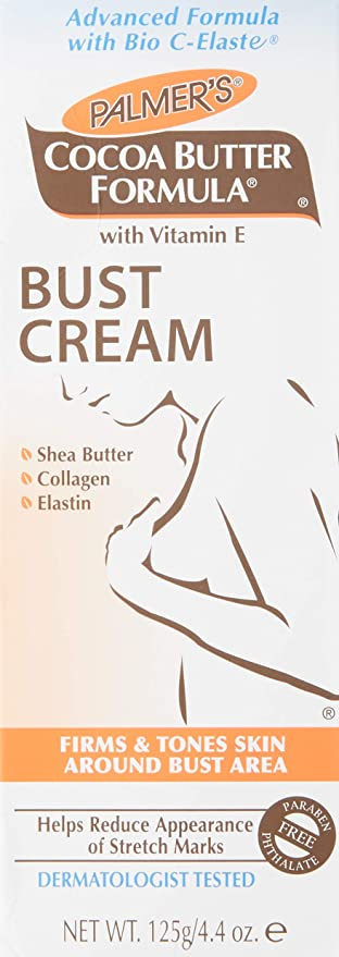 Palmers Cocoa Butter Bust Firming Cream 4.4oz (3 Pack) by Palmers: Amazon.es: Belleza