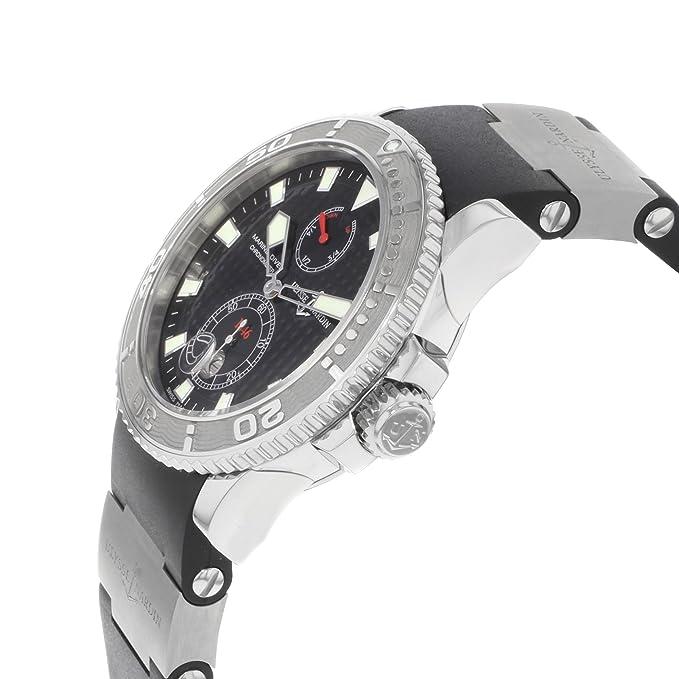Amazon.com: Ulysse Nardin Maxi Marine Diver 263-33-3/92 ...