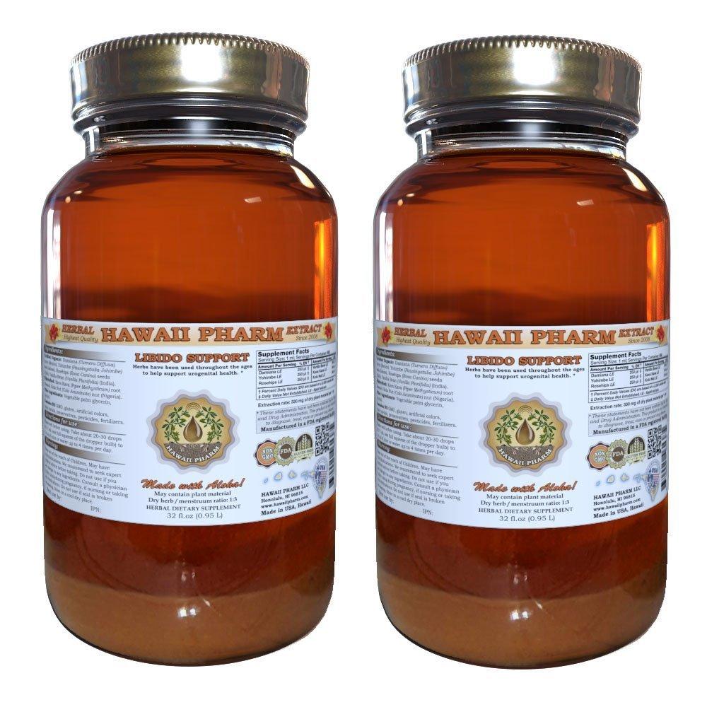 Libido Aid Liquid Extract, Herbal Libido Enhancer 2x32 oz