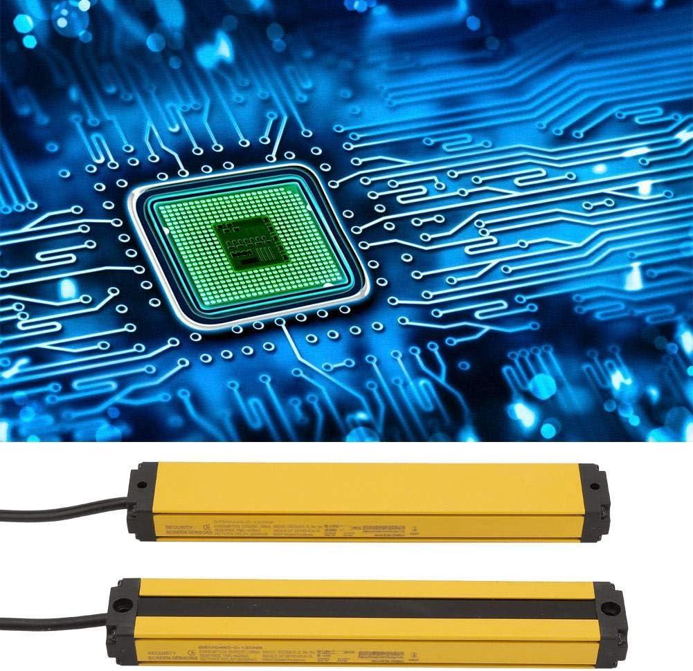 Optical Sensors DC 10-30V NPN/NC Light Curtain Sensor Switch ...