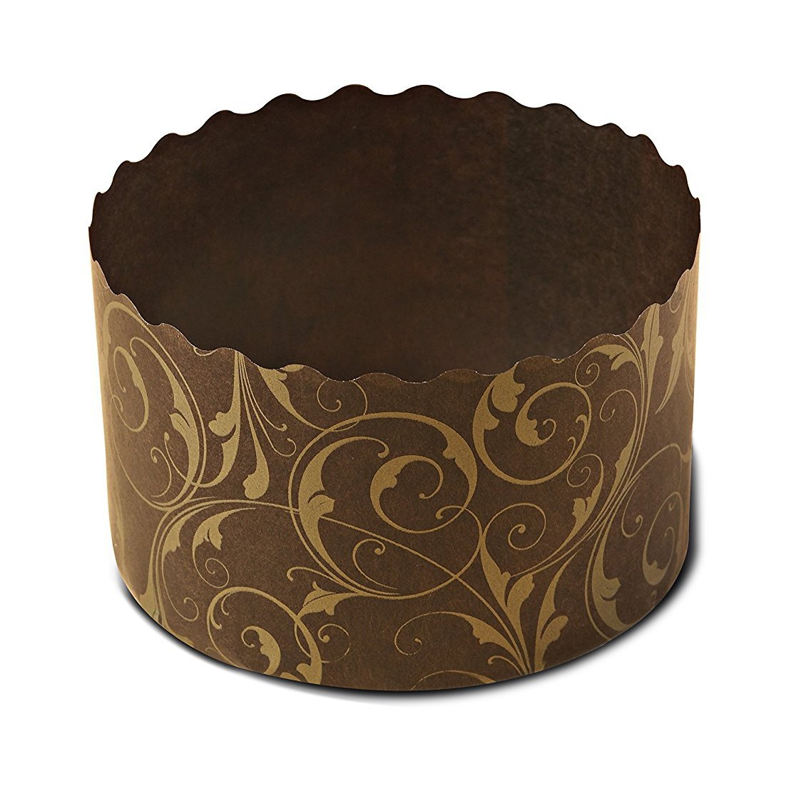 Baking Pan , Cupcakes , Perfect for Muffins, Cupcake Souffle, Panettone etc Size W 2.7 in X H 2 in PA7050FG (1000)