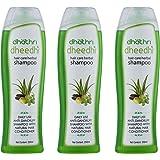 Dhathri dheedhi hair care herbal shampoo - 250ml (Pack of 3)