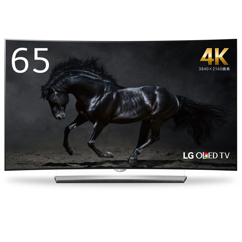 LG 65V型 有機EL テレビ 65EG9600 4K 外付けHDD裏番組録画対応  2015年モデル 65V型  B01466G94O