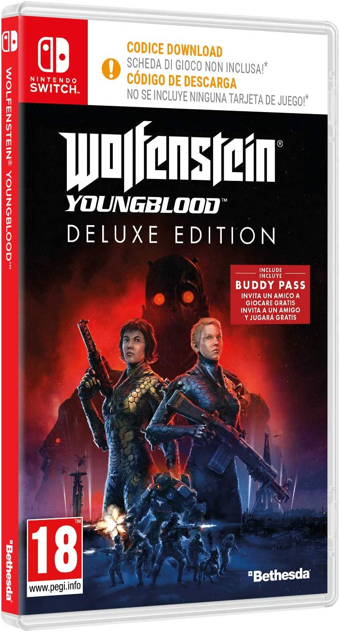 Wolfenstein Youngblood - Edición Deluxe Nintendo Switch: Amazon.es ...