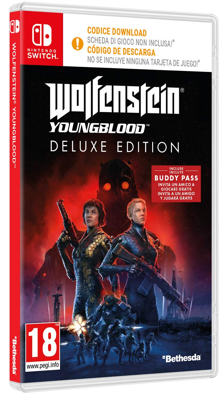 Wolfenstein Youngblood - Edición Deluxe Nintendo Switch ...