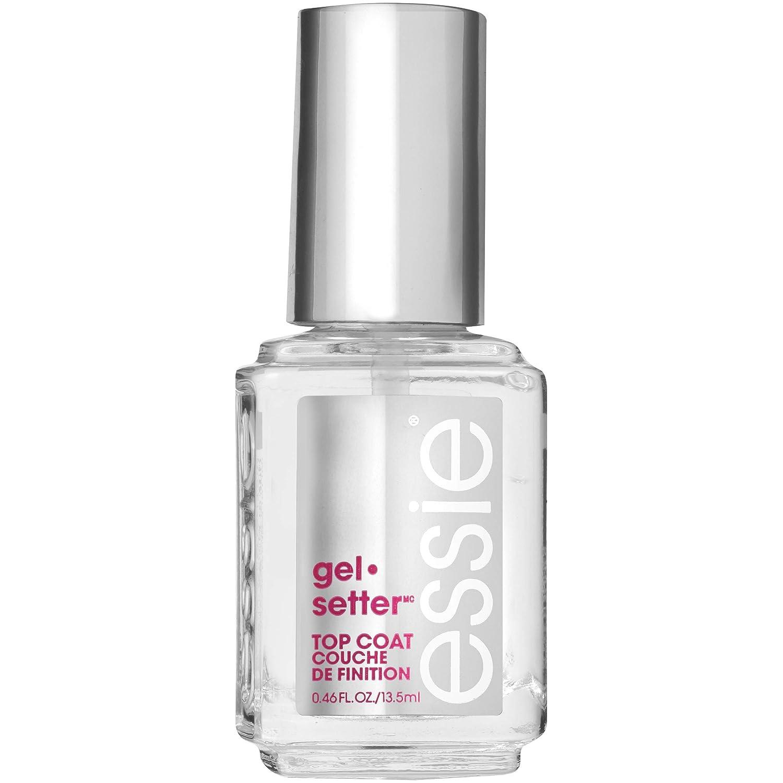 Amazon.com: essie gel-setter top coat 0.46 fluid ounces gel nail ...