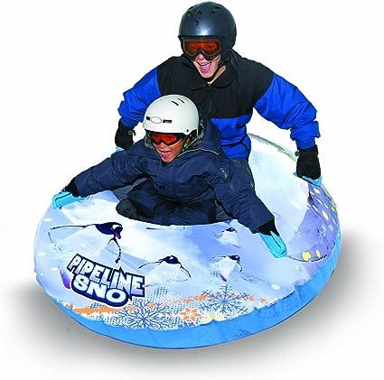 Clear//White//Blue 50 Diameter Pipeline Sno Penguin Inflatable Snow Tube