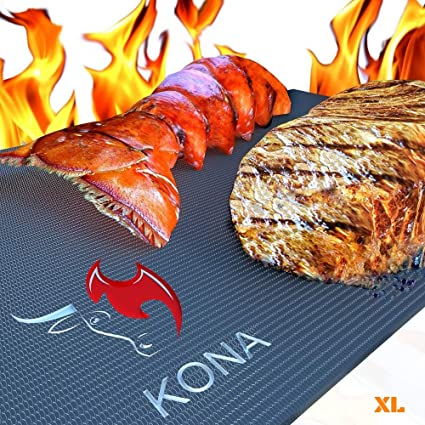 Amazon.com: Kona Best Estera de parrilla para barbacoa (TM ...