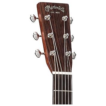 Martin hd-28e Retro a/E Guitarra w/carcasa funda: Amazon.es ...