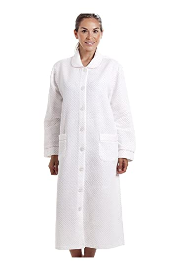 Robe rose a pois blanc