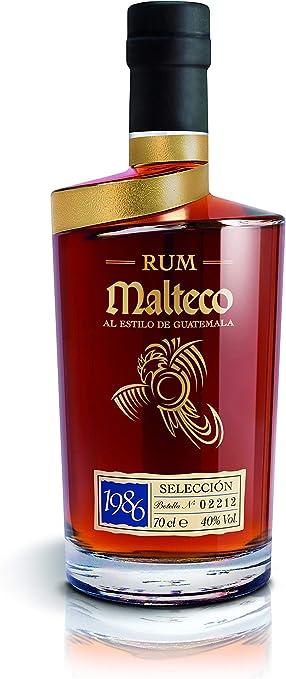 Malteco Malteco Ron SELECCIÓN 1986 40% Vol. 0,7l in Holzkiste - 700 ml