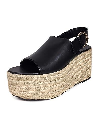 qualité authentique baskets doux et léger Zara Femme Chaussures à Talons compensés avec Boucle Join ...