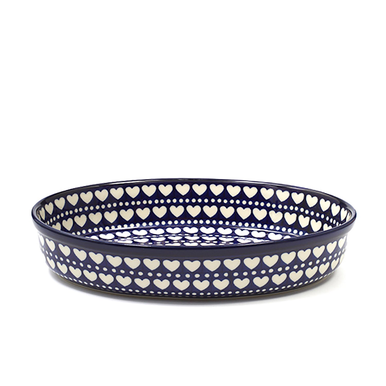 Bunzlau Castle Oval Oven Dish, Blue Valentine, 1550 ml 1298-0375e