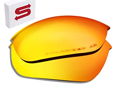1bbaf9a6d6 Image Unavailable. Image not available for. Color  ORANGE Oakley Half  Jacket 2.0 Lenses POLARIZED by Lens Swap QUALITY   PERFECT FIT