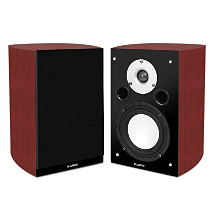 Fluance XL7S High Performance Two Way Bookshelf Surround Sound Speakers For Home Theater And Music