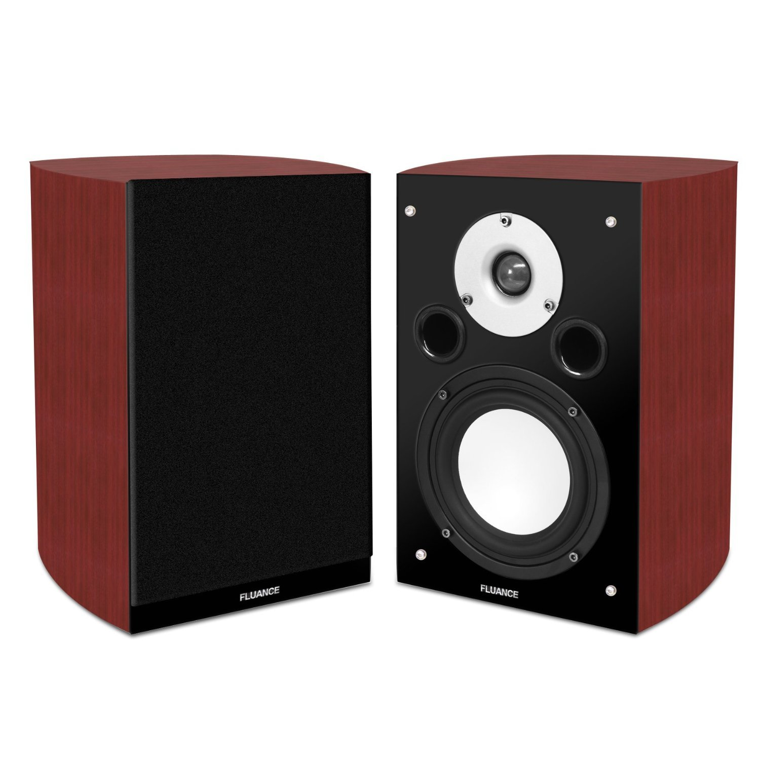 Fluance XL7S High Performance Two-way Bookshelf Surround Sound Speakers for Home Theater and Music Systems by Fluance