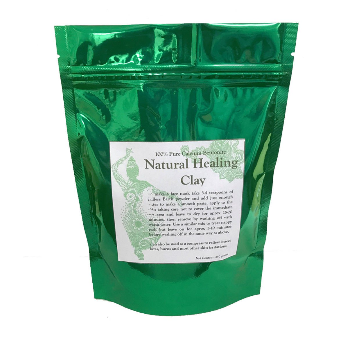 Calcium Bentonite Fuller's Earth Natural Detox Healing Clay (5 kilograms) PSRP