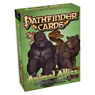 Pathfinder Face Cards: Animal Allies: Jacobs, James, Jacobs, James: Toys & Games