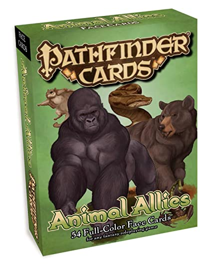 Pathfinder Face Cards: Animal Allies (Pathfinder Cards)