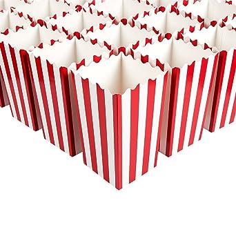 Cajas de palomitas de maíz de papel mini contenedores de palomitas ...