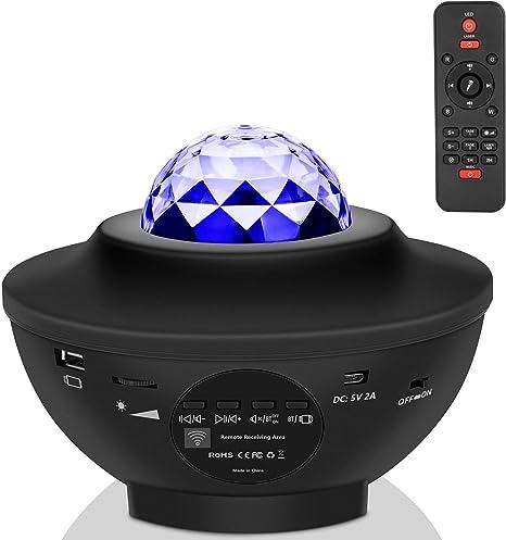 Amazon.com: Star Luz de noche para niños, proyector de ...