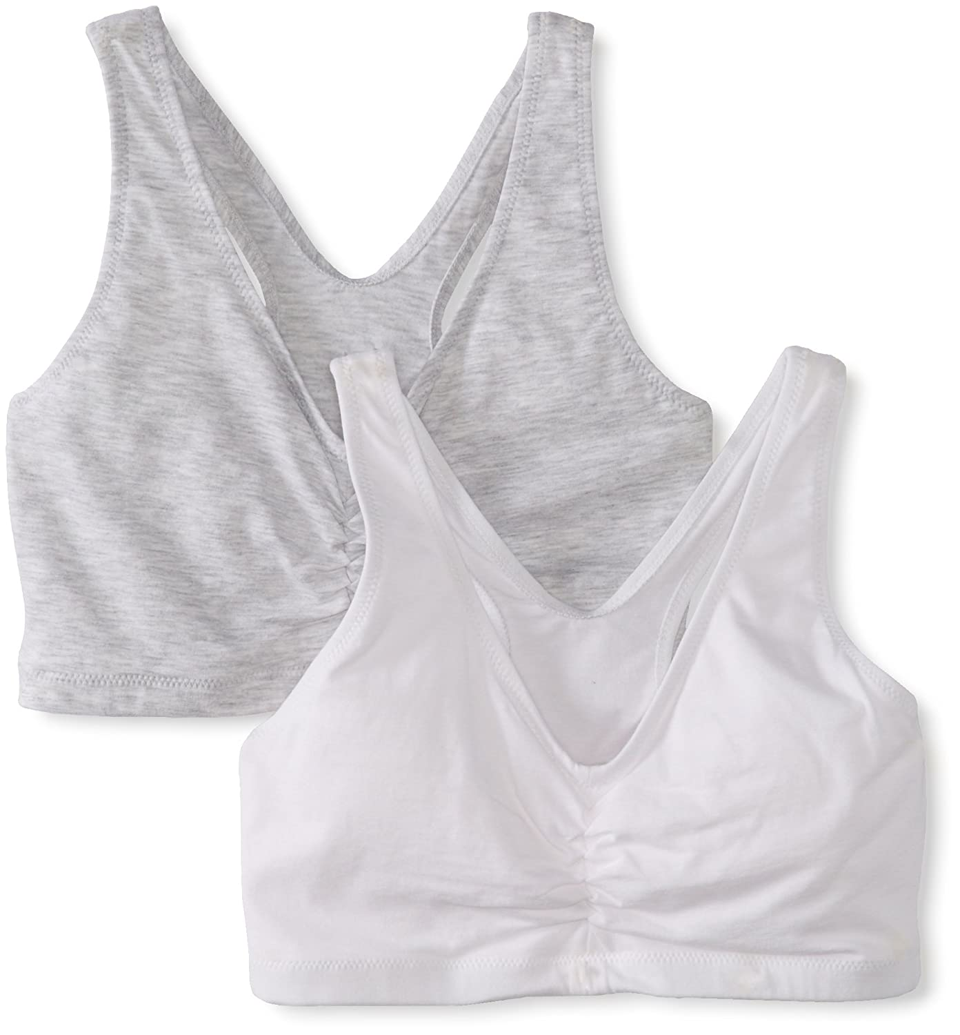 Hanes Women's Comfort-Blend Flex Fit Pullover Bra (Pack of 2) Hanes Bras H570