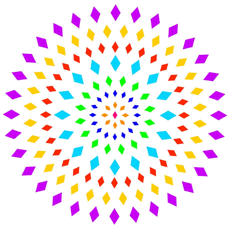 Demason 18 Stück Schablone Mandala Punkt Malvorlagen für DIY Steine,  Wandkunst, Leinwand, Holzmöbel Malerei (18,18x18,18CM)