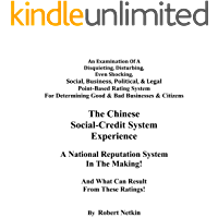 The Chinese Social-Credit System Experience: A National Reputation System In The Making