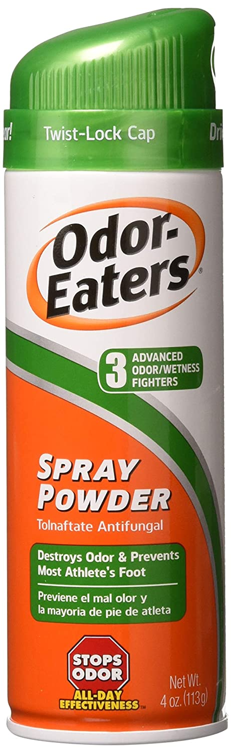 Odor-Eaters Foot and Sneaker Spray - 4 oz (Pack of 3) B411