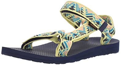 363a9b111 Teva Women s W Original Universal Sandal Boomerang Limelight 5 Medium US