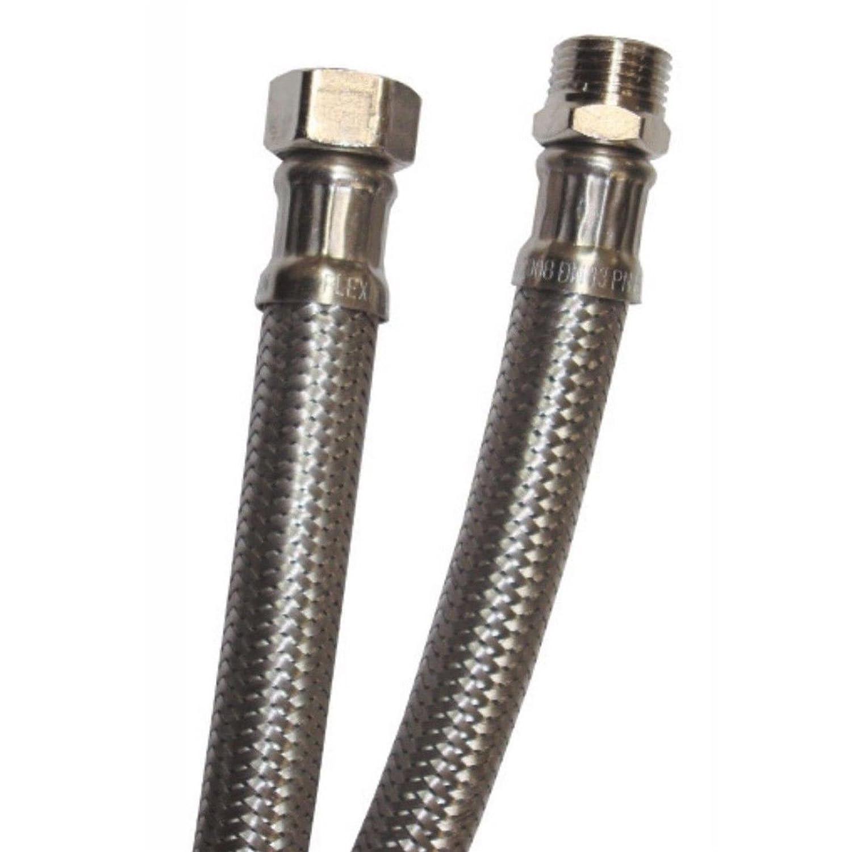 60-80 -100 cm 40-50 Flessibile acciaio inox tubo per acqua ricambio per miscelatore monocomando rubinetteria per bagno e cucina attacco 1//2 e 3//8 lunghezza 20-25 35 cm 1//2Fx1//2F 30-35