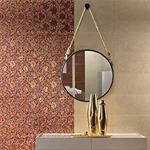 High-end Vanity Mirror, Hanging Mirror, Wall-Mounted ...