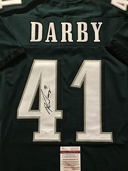 quality design 91536 70a88 Ronald Darby Signed Jersey - Green COA - JSA Certified ...