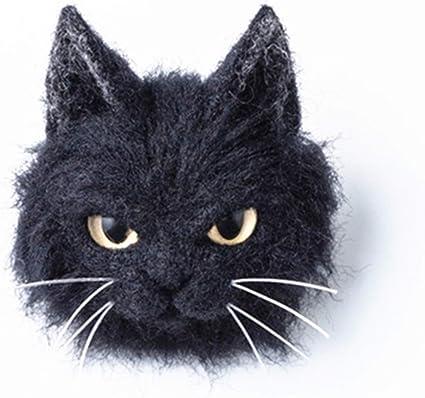 Little Kitten Wool Brooch Felt Pin Brooch Cat Pin Brooch Wool Brooch Wool Jewelry Needle Felting Animal Brooch Gift For Her